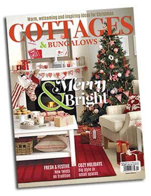 Cottage Cover Spitfire Girl in Cottages & Bungalows Magazine
