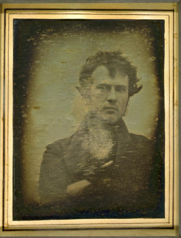 ExplorePAHistory a0a7w1 a 3491 Robert Cornelius The First Light Picture Ever Taken
