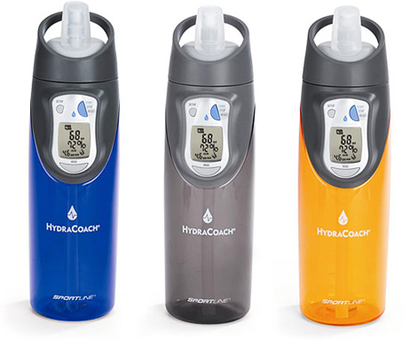 Sportline Hydracoach Intelligent Water Bottle Get your H2O on