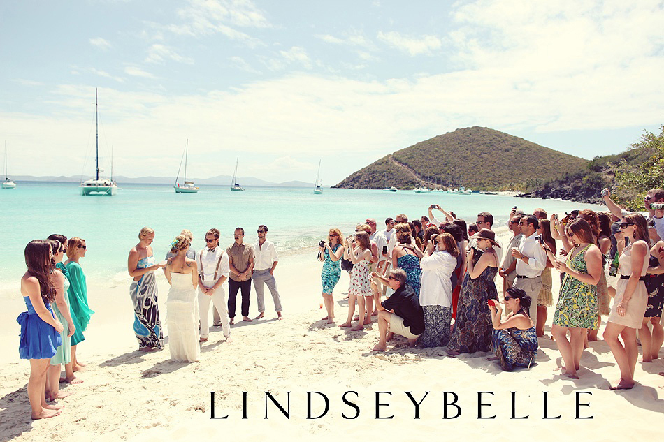 LIZ AND BRAHM GET MARRIED IN THE CARIBBEAN