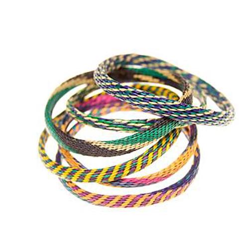 bracelets woven Im sensing a theme here...