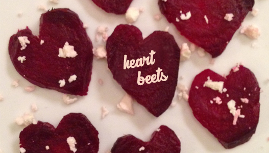 heartbeets title Spitfire Girl in the Kitchen: Heart Beets