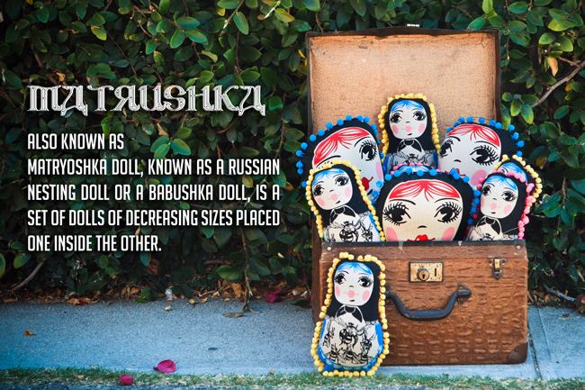 matrushkas New Matrushka Dolls for you to love on!