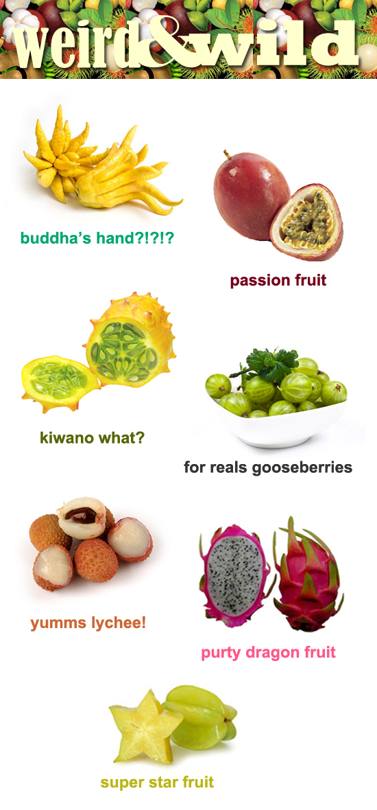 weirdo fruits Refreshing & weird fruits for summer